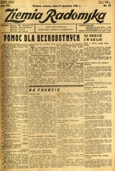 Ziemia Radomska, 1934, R. 7, nr 22