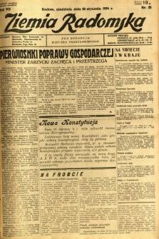 Ziemia Radomska, 1934, R. 7, nr 23