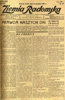 Ziemia Radomska, 1934, R. 7, nr 25