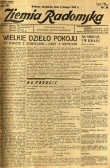 Ziemia Radomska, 1934, R. 7, nr 28