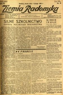 Ziemia Radomska, 1934, R. 7, nr 30