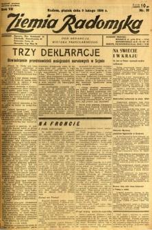 Ziemia Radomska, 1934, R. 7, nr 32
