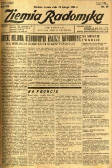 Ziemia Radomska, 1934, R. 7, nr 42