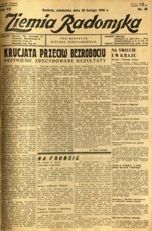 Ziemia Radomska, 1934, R. 7, nr 46