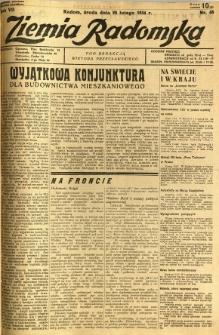 Ziemia Radomska, 1934, R. 7, nr 48