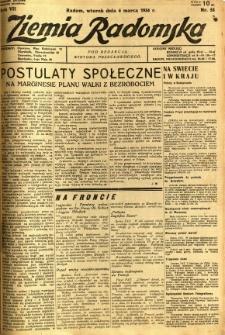 Ziemia Radomska, 1934, R. 7, nr 53