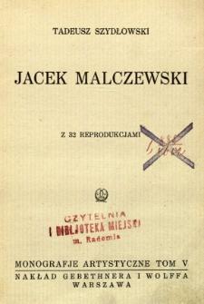 Jacek Malczewski : z 32 reprodukcjami