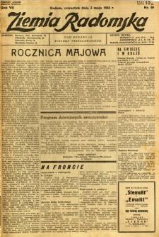 Ziemia Radomska, 1934, R. 7, nr 99