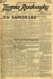 Ziemia Radomska, 1934, R. 7, nr 103
