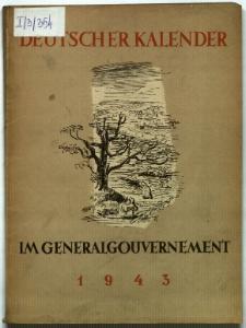 Deutscher Kalender im Generalgouvernement 1943