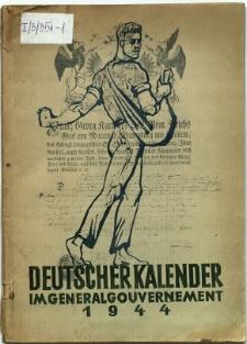 Deutscher Kalender im Generalgouvernement 1944 : Ausgabe B