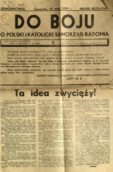 Do boju o polski i katolicki samorząd Radomia