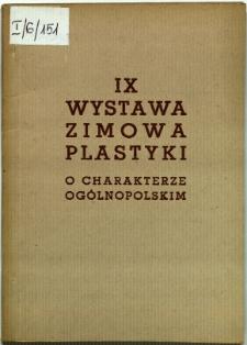 Dziewiąta Wystawa Zimowa o charakterze ogólnopolskim