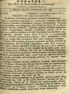 Dziennik Urzędowy Gubernii Sandomierskiej, 1837, nr 42, dod. IV