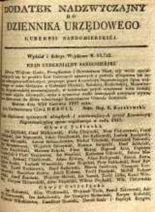 Dziennik Urzędowy Gubernii Sandomierskiej, 1837, nr 42, dod. nadzwyczajny