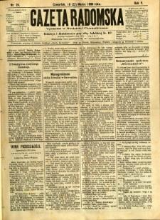 Gazeta Radomska, 1888, R. 5, nr 24