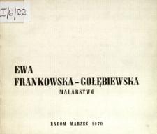 Ewa Frankowska-Gołębiewska : Malarstwo