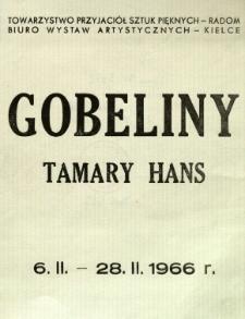 Gobeliny Tamary Hans