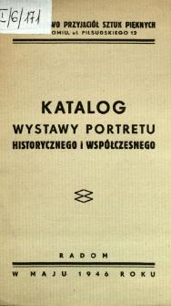 Katalog wystawy portretu historycznego i współczesnego