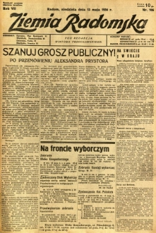 Ziemia Radomska, 1934, R. 7, nr 106