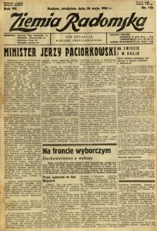 Ziemia Radomska, 1934, R. 7, nr 112