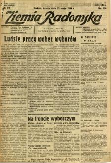 Ziemia Radomska, 1934, R. 7, nr 114