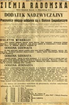Ziemia Radomska, 1934, R. 7, nr 119