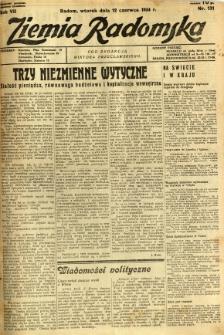 Ziemia Radomska, 1934, R. 7, nr 131