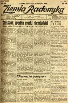 Ziemia Radomska, 1934, R. 7, nr 140