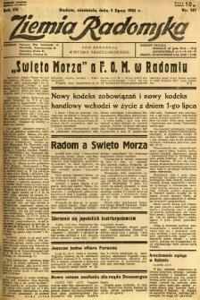 Ziemia Radomska, 1934, R. 7, nr 147