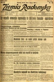 Ziemia Radomska, 1934, R. 7, nr 149