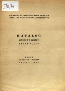 Katalog wystawy rzeźby Leona Kudły
