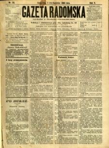 Gazeta Radomska, 1888, R. 5, nr 32