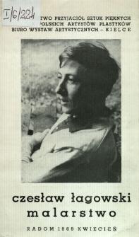 Czesław Łagowski : Malarstwo
