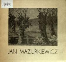 Jan Mazurkiewicz : Malarstwo