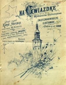 Na Gwiazdkę : Wydawnictwo Okolicznościowe świąteczno-noworoczne ilustrowane z Kalendarzem na rok 1889