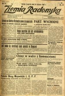 Ziemia Radomska, 1934, R. 7, nr 197