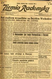 Ziemia Radomska, 1934, R. 7, nr 200