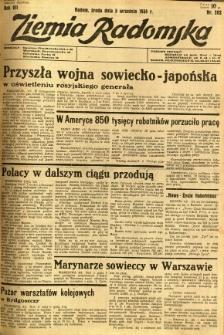 Ziemia Radomska, 1934, R. 7, nr 202