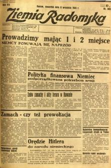 Ziemia Radomska, 1934, R. 7, nr 203