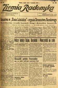 Ziemia Radomska, 1934, R. 7, nr 204