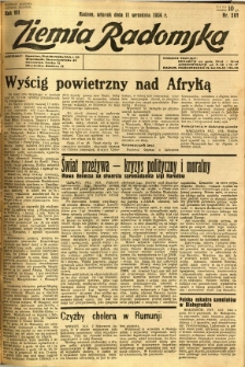 Ziemia Radomska, 1934, R. 7, nr 207