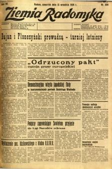 Ziemia Radomska, 1934, R. 7, nr 209