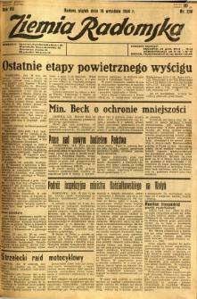 Ziemia Radomska, 1934, R. 7, nr 210