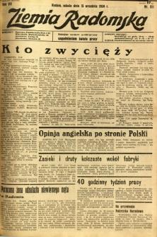 Ziemia Radomska, 1934, R. 7, nr 211