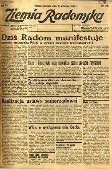 Ziemia Radomska, 1934, R. 7, nr 212