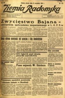 Ziemia Radomska, 1934, R. 7, nr 213
