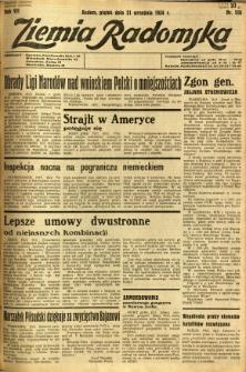 Ziemia Radomska, 1934, R. 7, nr 216