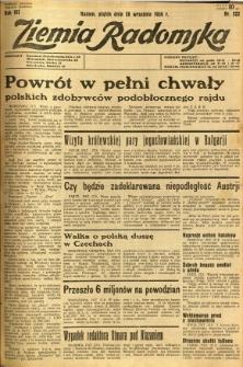 Ziemia Radomska, 1934, R. 7, nr 222