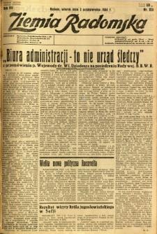 Ziemia Radomska, 1934, R. 7, nr 225